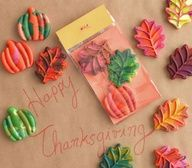 No more kids' table for us, but what an adorable idea to cover it in butcher paper & give the kids these homemade crayons!