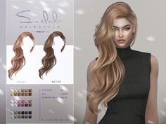 The Sims, Sims Cc, Sims 4 Mods Clothes, Sims Mods, Mod Hair, Pelo Sims, All Hairstyles, Female Hairstyles, Sims 4 Collections