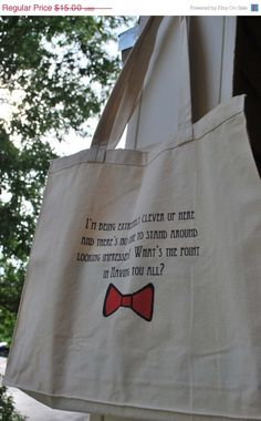 Quotable Doctor Who Tote