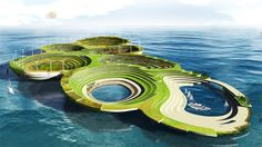 Noah's Ark - Futuristic Architecture