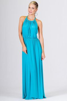 This sexy but elegant maxi dress can be worn during casual or dressy affairs. It…