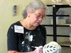 Jennifer McCurdy: Carving Porcelain.AVI