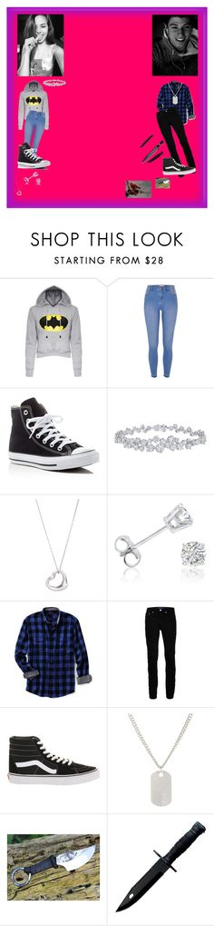 """PRP"" by cxlxstial ❤ liked on Polyvore featuring River Island, Converse, Harry Winston, Tiffany & Co., Amanda Rose Collection, Lands' End, Topman, Vans and Loren Stewart"