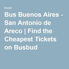 Bus Buenos Aires - San Antonio de Areco | Find the Cheapest Tickets on Busbud