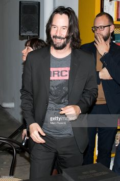 News Photo : Actor Keanu Reeves attends the 'X Artists' books...