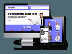 Businessman - Corporate Drupal theme by Ordasoft  on @creativemarket