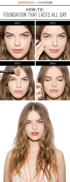 The 1 Genius Trick You Need to Make Your Foundation Last ALL Day