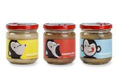 Ooh Ooh Ah Ah! Monkey brand Packaging