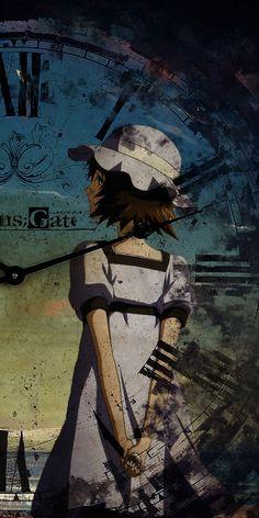 Steins: Gate is anime premiered on Spring 2017 based on visual novel adaptation. Steins Gate 0, Kurisu Makise, Manga Anime, Anime Art, Plastic Memories, Anime Kunst, Otaku, Coloring Pages Inspirational, Animes Wallpapers