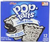 #6: Pop-Tarts Frosted Cookies & Cream 12-Count Tarts (Pack of 6) 21.1oz