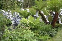 One of my favourite 'designed' gardens is Andy Sturgeon's RHS Chelsea Flower Show 2008 Gold Medal winning garden: 'The Cancer Research UK Garden' sponsored by Cancer Research UK.