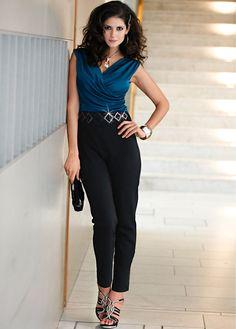black and blue #overall #bonprix