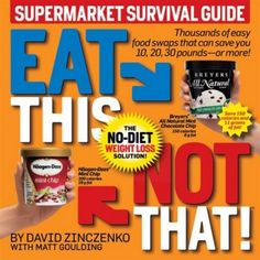 The Biggest Loser Eat This Not That Supermarket Survival Guide $19.95 #BiggestLoser