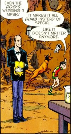 Poor Robin. Tee Hee