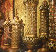 Turkish Decor Lanterns, Arabian Decor, Arabic Decor, Rustic Home Decor by www.grandbazaarshopping.com