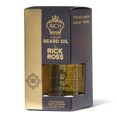 Luxury Beard Oil by Rick Ross. Gloss like a BOSS. Fast absorbing oil, making the beard and skin soft without leaving any greasy residue or heaviness. Rick Ross Beard, Beard Oil Review, Best Beard Oil, Barber Supplies, Beard Grooming, Awesome Beards, Sally Beauty, Olive Fruit, Best Oils