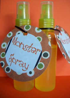 "For kids that are afraid of Monsters! My mommy used to have ""monster buster spray"" and it smelled like bubblegum :]"