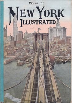 A beautiful image of 1912 New York - this would look wonderful as a wall print. #1910s #New_York #magazines #covers #American