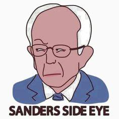 Sanders Side Eye