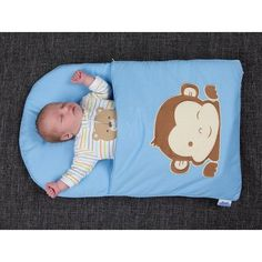 Who will you make one of these gorgeous Baby Pillowcase Sleeping Bags for? You can have one whipped up in a few short hours! Check out the Owl Baby Mat too.