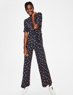 Discover our wide range of dresses for women at Boden, from smart day dresses to partywear. Latest Fashion Dresses, Overall, Navy Women, Straight Leg Pants, Wide Leg, Wrap Dress, Pants For Women, Feminine, Summer Dresses
