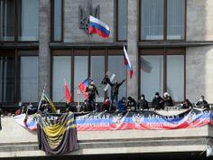Ukraine: proclamation de souveraineté dans des grandes villes de l'est - International - Actualité - LeVif.be