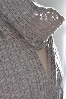 Frostlight scarf - free pattern download link on right sidebar