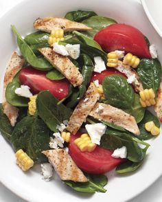 For a quick, easy, and delicious meal, make this salad for supper in under 30 minutes.
