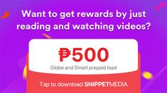 Enjoy stories from your favorite publishers and credible sources. Use the app regularly and earn rewards daily. Online Earning, Philippines, How To Get, Coding, App, Entertainment, Videos, Anime Art, Diamonds