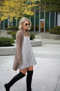 ANDREA CLARE blog - over the knee boots