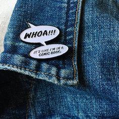 Comic Pin