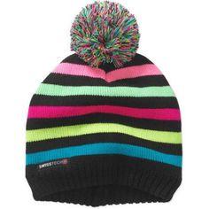 e8524a8ce3d Swiss Tech - Swiss Tech Girls Knit Beanie - Walmart.com. Knit BeanieWinter  HatsCaps Hats