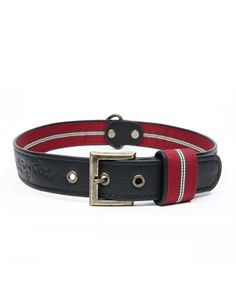 WAGWORLD BLACK LEATHER DOG COLLAR - LARGE. Available from Nuzzle.co.za Leather Dog Collars, Your Dog, Black Leather, Belt, Tags, Accessories, Belts, Mailing Labels, Jewelry Accessories