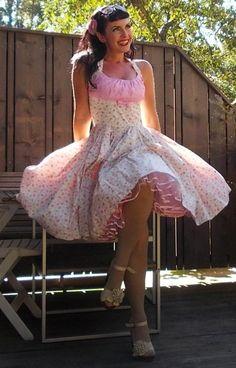 Robe pin-up Cutiepie cupckake mignonne robe par PinupDollWardrobe