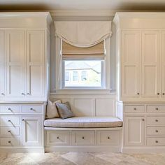 Trendy bedroom wardrobe storage built ins window seats Ideas Bedroom Wardrobe, Closet Bedroom, Bedroom Window Dressing, Bedroom Built Ins, Bedroom Storage Cabinets, Build A Closet, Remodel Bedroom, Bedroom Built In Wardrobe, Traditional Bedroom Design