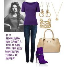 """""""Purple Love"""" by theasian79 on Polyvore"""