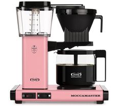 9 Outrageously Beautiful Pink Coffee Makers
