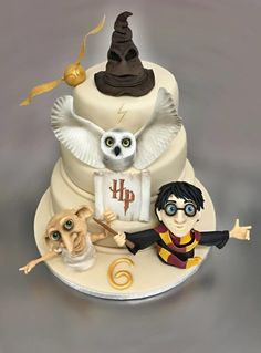 Harry Potter - Cake by Romana Bajerová