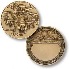 AH-64 Apache Engravable  https://store.nwtmint.com/product_details/3750/AH_64_Apache_Engravable/