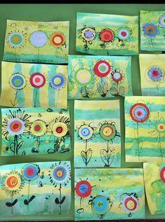 kandinsky art for kids project ideas & kandinsky art for kids project ideas Spring Art Projects, Projects For Kids, Crafts For Kids, Arts And Crafts, Mothers Day Crafts, Project Ideas, Craft Ideas, Decor Ideas, Kindergarten Art