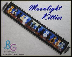STABLEMATES Peyote Cuff Bracelet Pattern Here is a beautiful cuff bracelet for horse-lovers young and old. Stitched in simple even-count peyote this pattern will bead up fast and easy. Peyote Stitch Patterns, Loom Patterns, Bracelet Patterns, Beading Patterns, Beading Tutorials, Beaded Cuff Bracelet, Peyote Beading, Loom Bracelets, Loom Beading