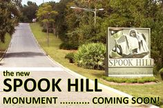 Spook Hill has gained worldwide notoriety as one of the most confounding potentially haunted locations in existence. Visitors come to Lake Wales from around the world to park their cars at the bottom of Spook Hill and experience the mysterious force that seems to defy gravity and push the car right up to the top of the hill. Visit Spook Hill, park your car at the white line, put it in neutral, and see the results for yourself!