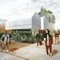 LITHUANIAN PAVILION EXPO 2015 BY VILNIUS ARCHITECTURE STUDIO Pavilion Architecture, Wood Architecture, Concept Architecture, Pavilion Design, Expo Milano 2015, Expo 2015, Temporary Architecture, Image 3d, 3d Architect