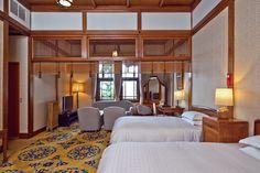 「奈良ホテル」明治・大正期の建築家・辰野金吾らの手による檜造りのクラシックホテル