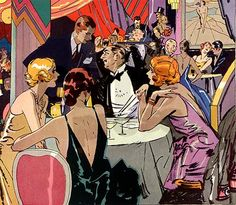 Art Deco ~ The Cocktail Party