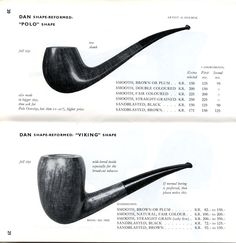 Pipe-Dan 1961-62 Catalog