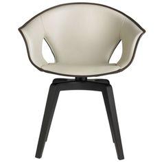 Poltrona Frau polyurethane Ginger swivel chair