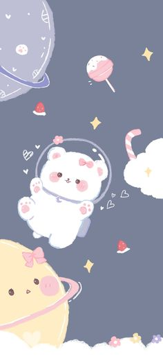 Kawaii Cute Wallpapers, Iphone Wallpaper Kawaii, Cute Pastel Wallpaper, Cute Patterns Wallpaper, Cute Disney Wallpaper, Cute Anime Wallpaper, Cute Wallpaper Backgrounds, Pretty Wallpapers, Aesthetic Iphone Wallpaper