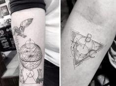 Les tatouages géométriques de Dr Woo 2Tout2Rien
