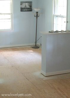 Enchanting Painted Wood Floors Ideas Painted Wood Floors Amazing Painted Plywood Subfloor A How To Plywood Flooring Diy, Painted Plywood Floors, Plywood Subfloor, Plywood Kitchen, Plywood Furniture, Kitchen Flooring, Kid Furniture, Laminate Flooring, Furniture Design